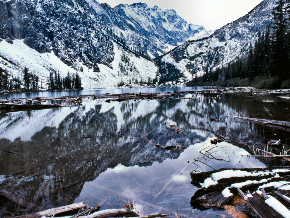 Okawen Winter at Louis Lake, Okanogan National Forests