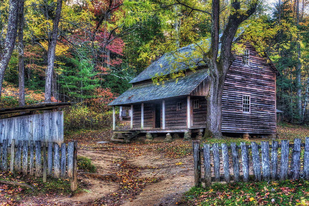 Tipton Place, Cades Cove, Great Smoky Mountains National Park