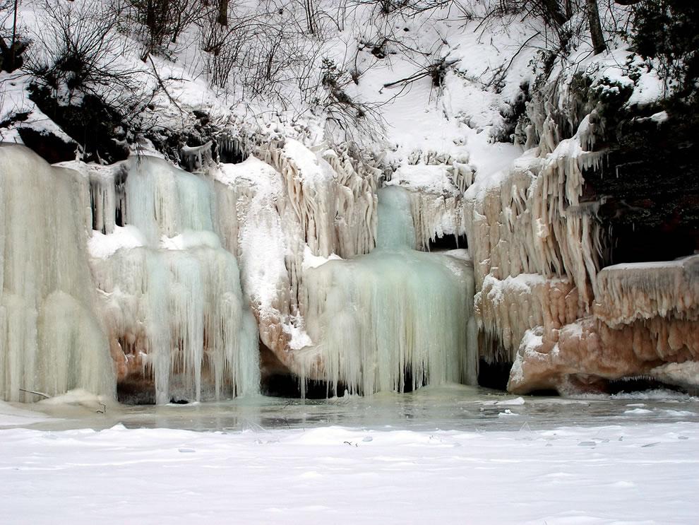 Frozen, Apostle Islands Ice Cave, 2009