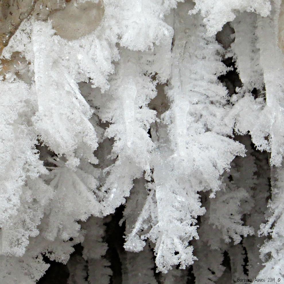 Icy formations along Lake Superior, Jan 2014
