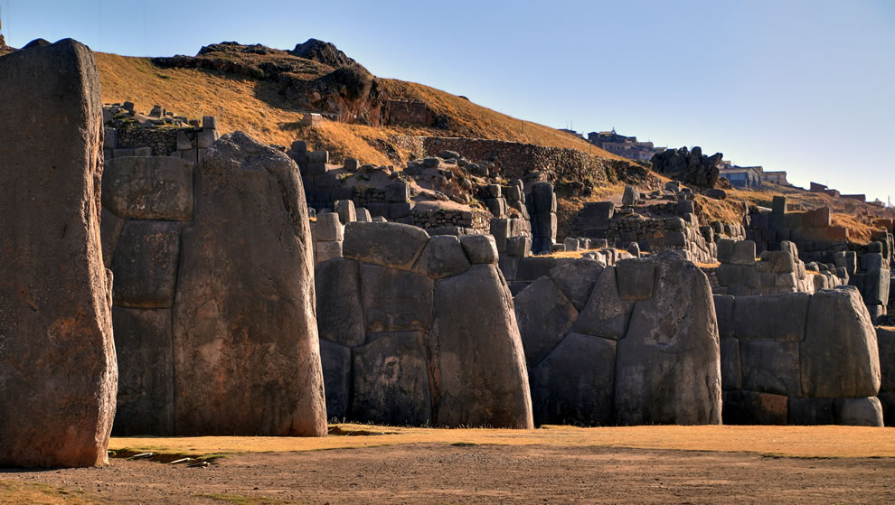 Amazing giant rocks, architecture so precise a knife can't be wedged between the massive stones