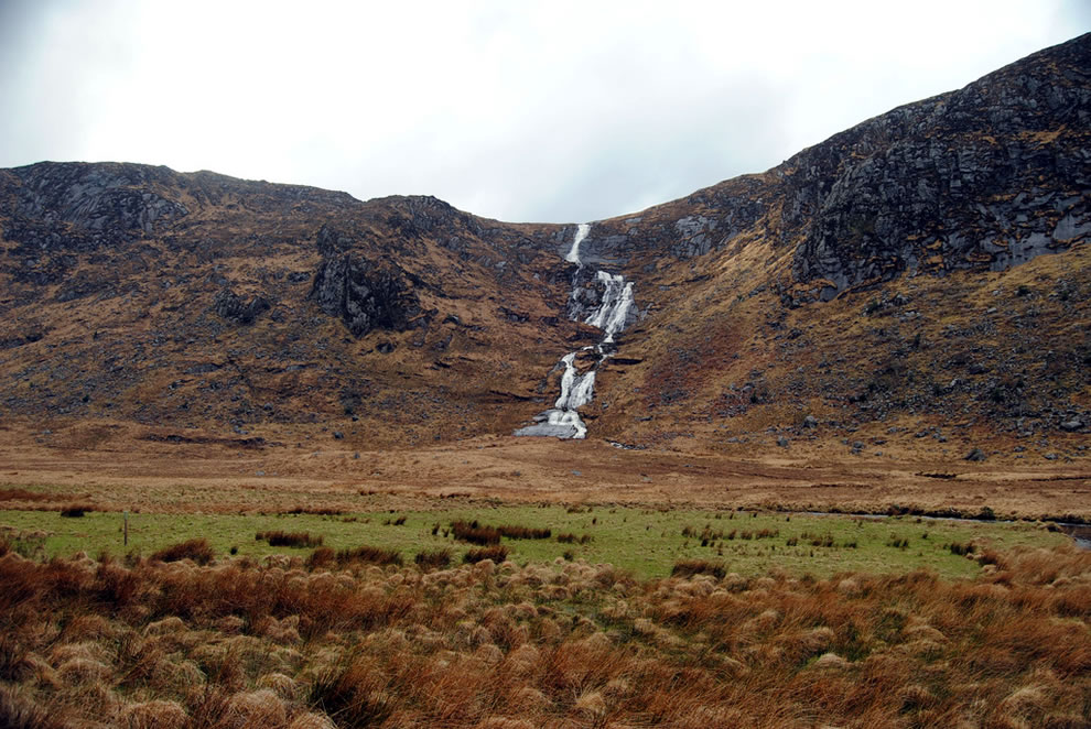 Astellen Waterfall at Glenveagh National Park