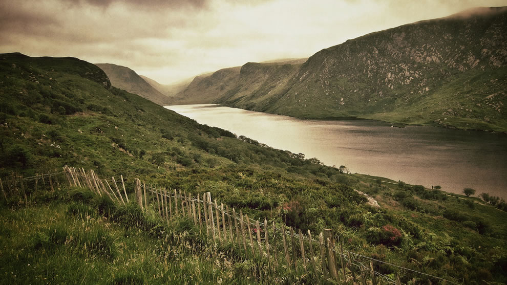At Glenveagh National Park, County Donegal