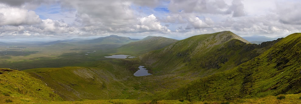 Ballycroy National Park from Nephin Beg Range