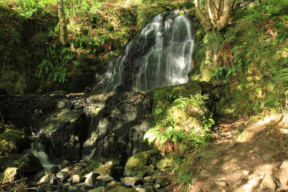 Connemara National Park cascade