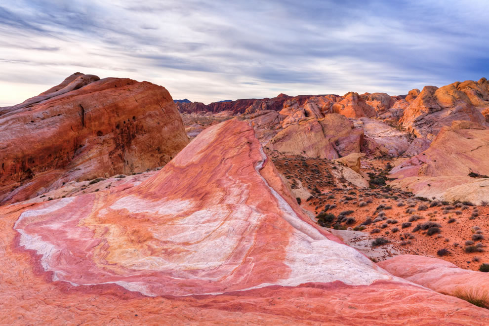 Crazy Hill Sunrise, Valley of Fire State Park