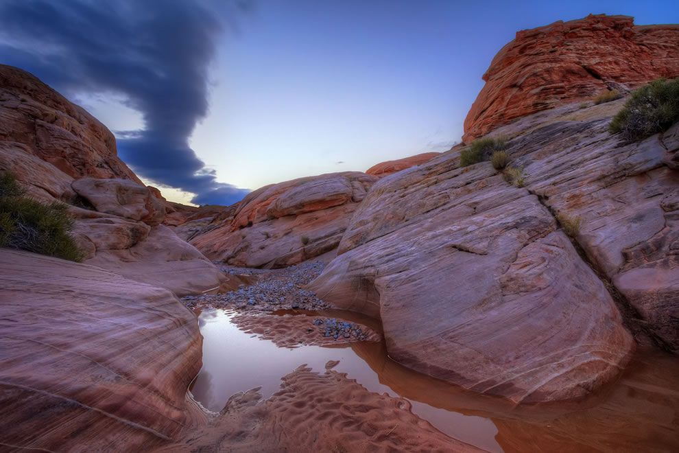 Early Morning Reflections at Valley of Fire