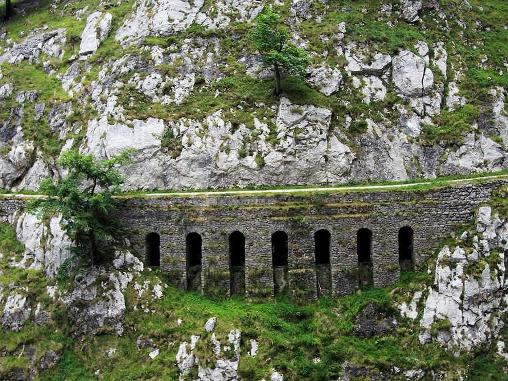 Garganta del Cares Bridge, Picos de Europa