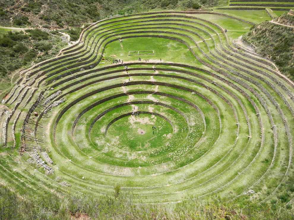 Inca terraces of Moray, Peru