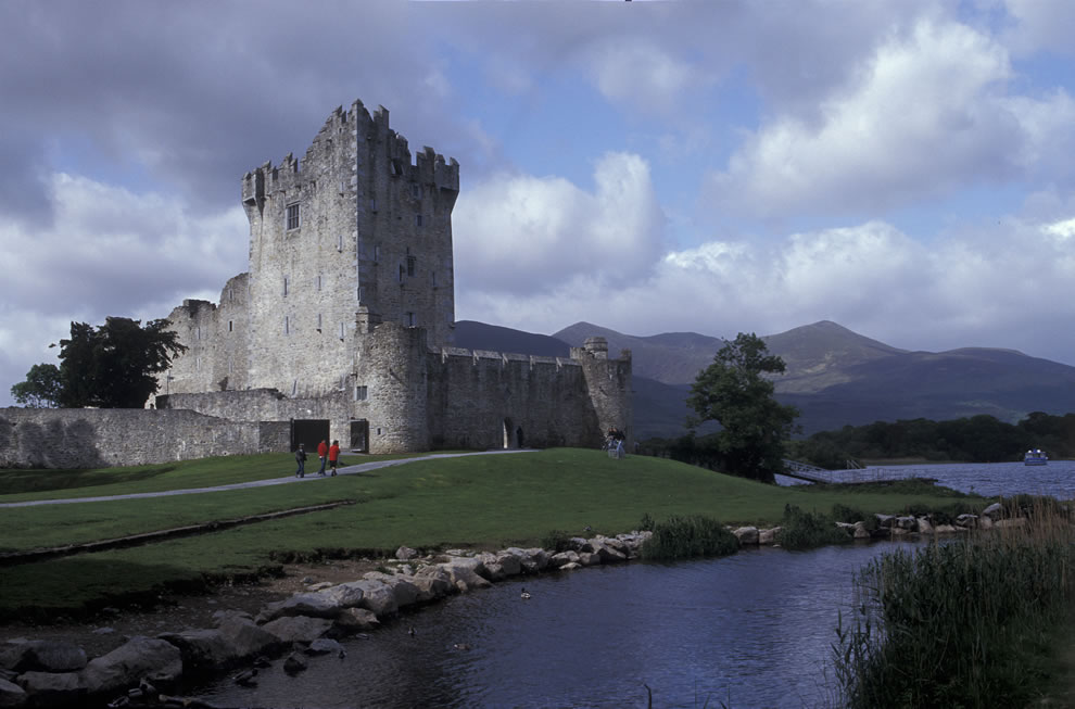 Killarney National Park, Ross Castle, Ireland