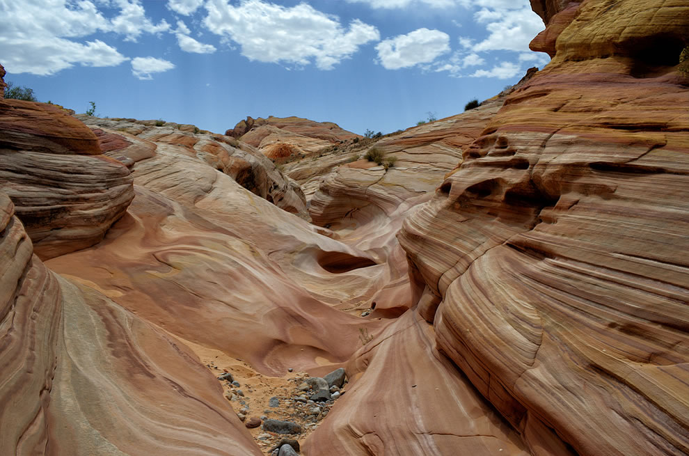Pink Canyon in  Valley of Fire State Park