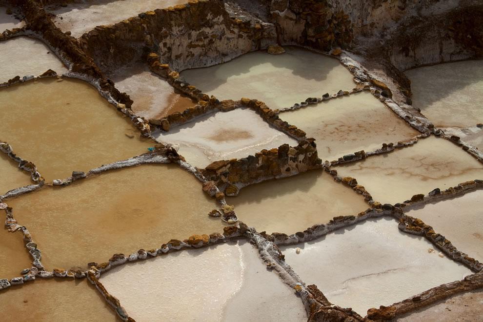 Salineras salt pans