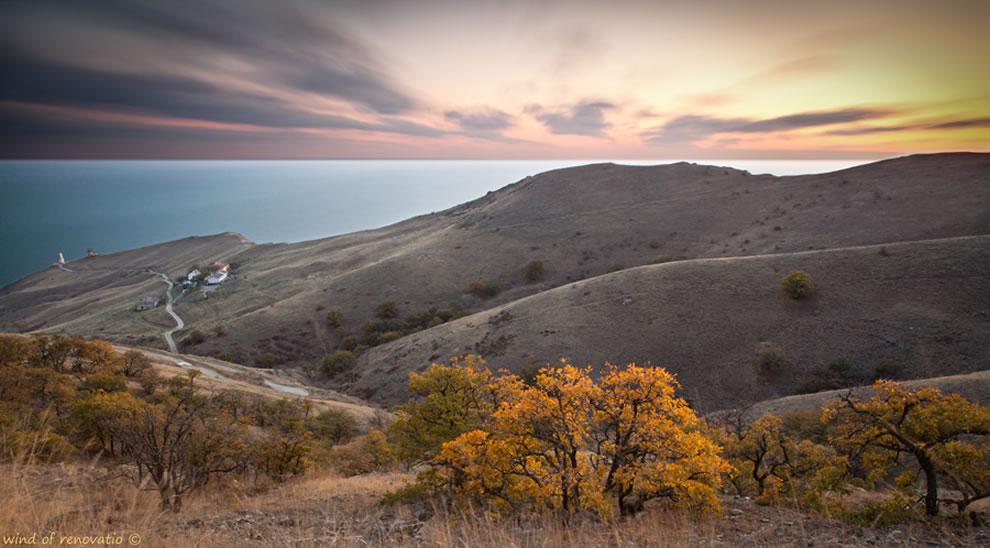 The lost lighthouse, Crimea, Ukraine