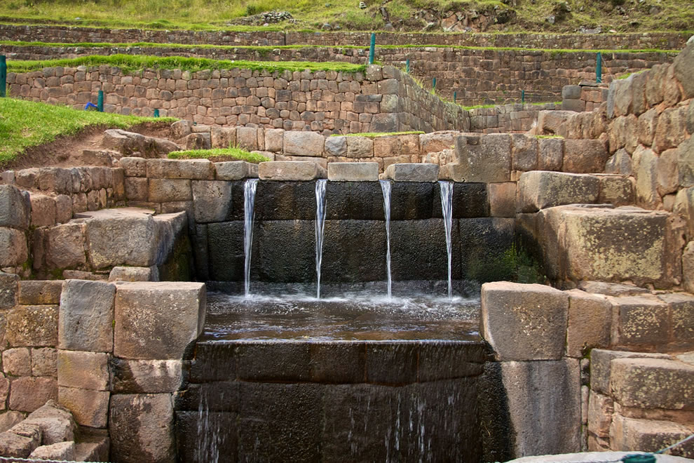 Tipón water channeling, Cusco Sacred Valley & Incan Ruins