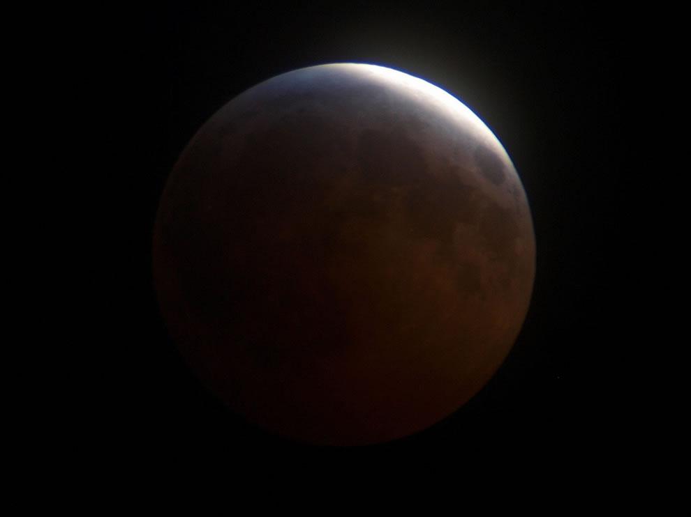 Lunar Eclipse Winter Solstice Moon
