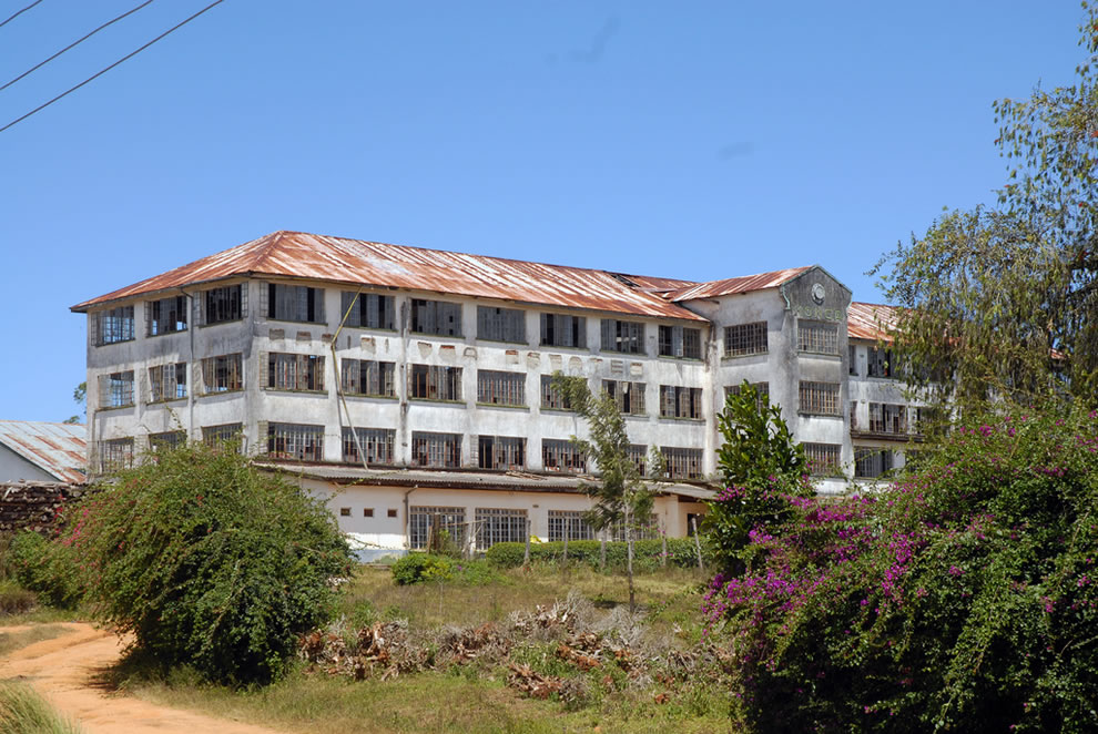 Abandoned Monga Tea Factory in East Africa
