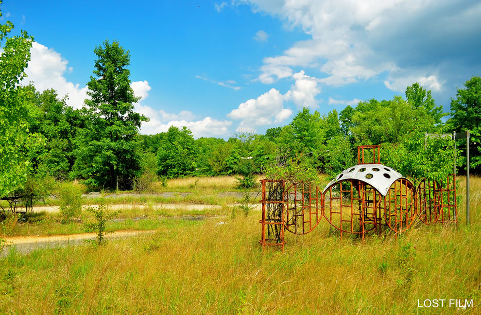 Forsaken playground at Forest Haven