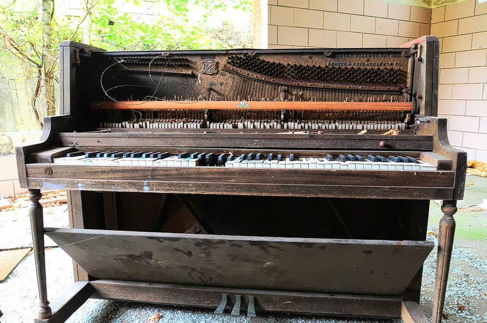 Piano at Forest Haven