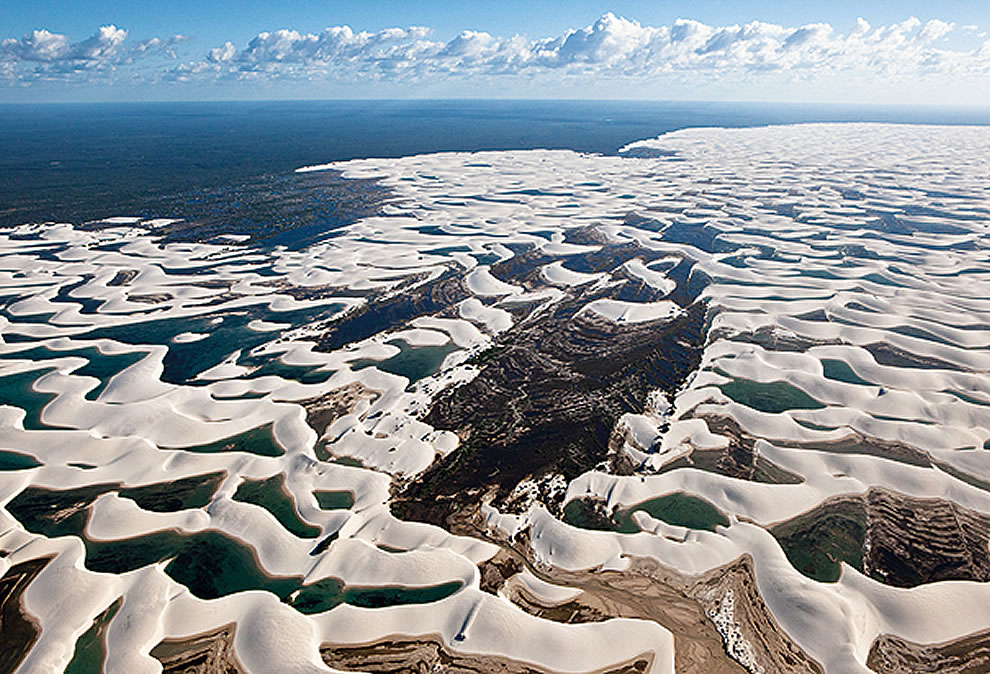 Beaches and Dunes, Desert Oasis in Brazil