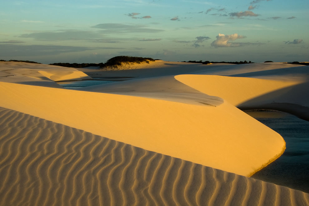 Lencois Maranhenses shifting sand dunes and hidden rainwater lakes