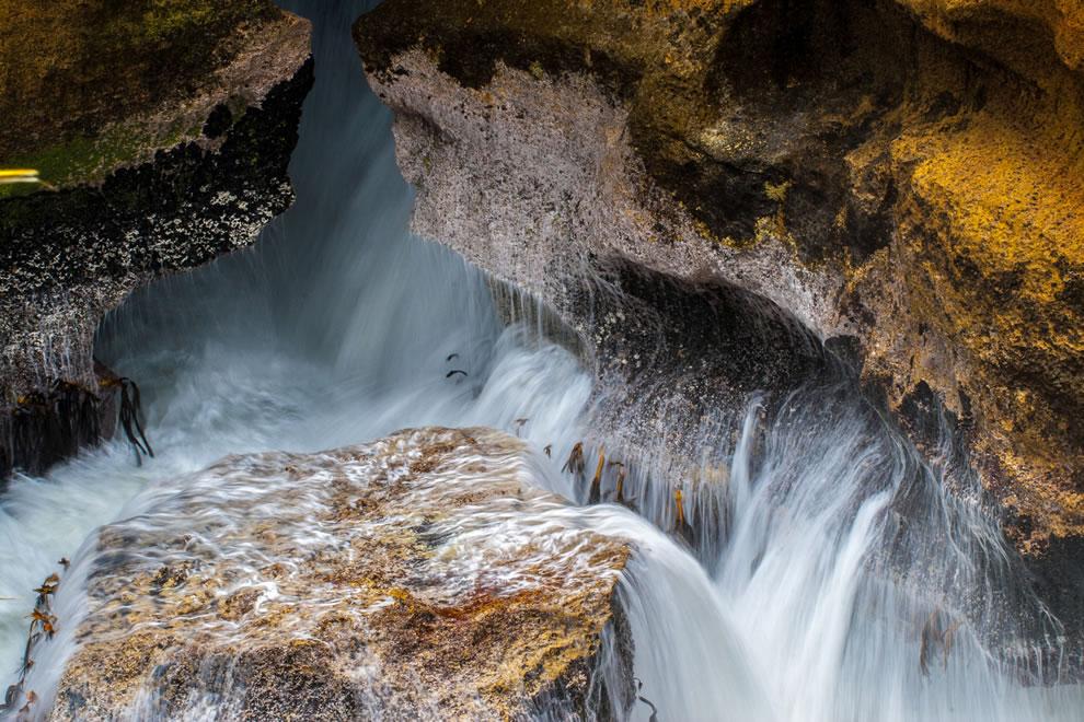 Long exposure, Pancake Rocks, Punakaiki, West Coast, South Island, New Zealand