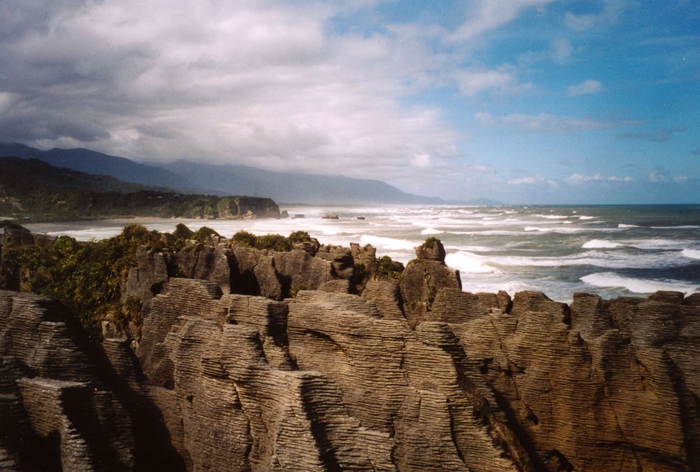New Zealand - Punakaiki, Dolomite Point