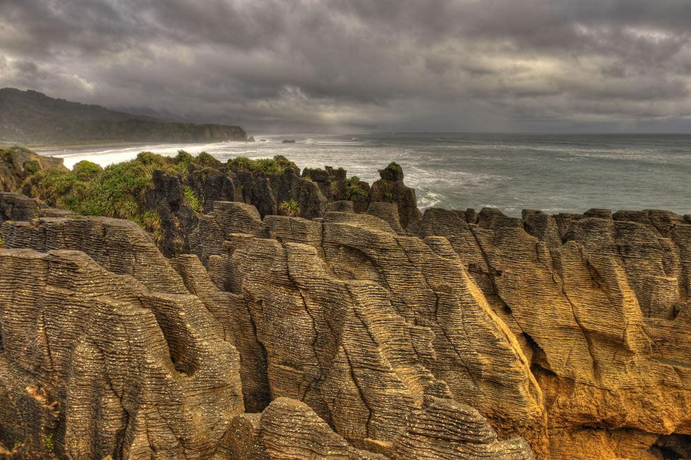 PUNAKAIKI PANCAKES ROCKS - NEW ZEALAND