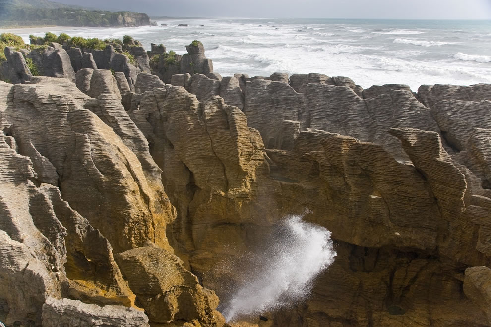 Pancake Rocks at Punakaiki