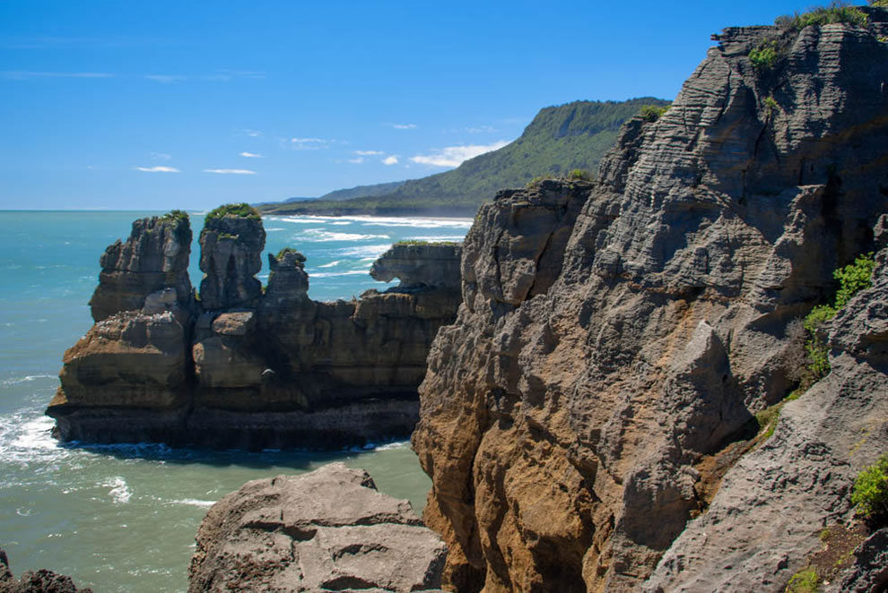 Punakaiki Rocks on the West Coast, New Zealand