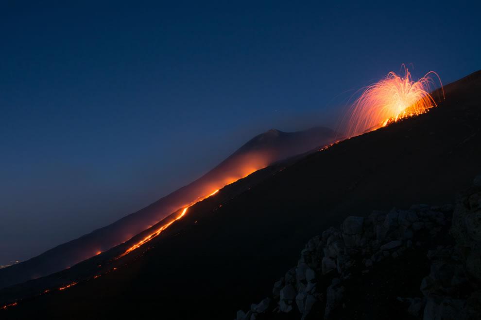 Etna in August 2014
