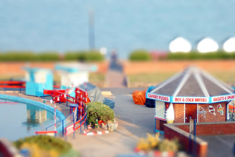 Felixstowe sea front miniature