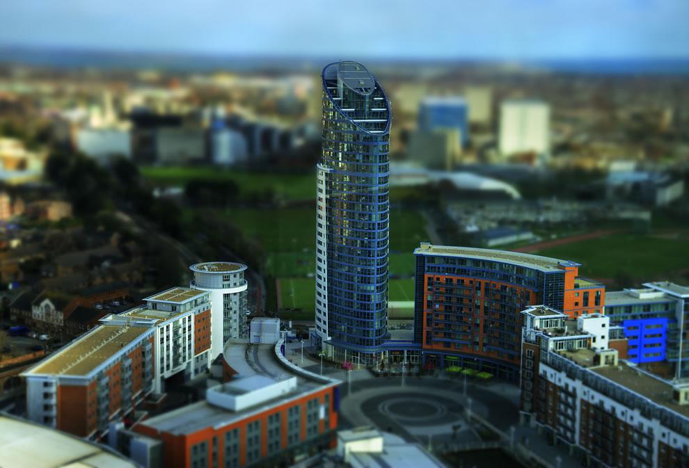 Gunwharf model
