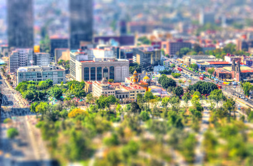This is Mexico, tilt shift style
