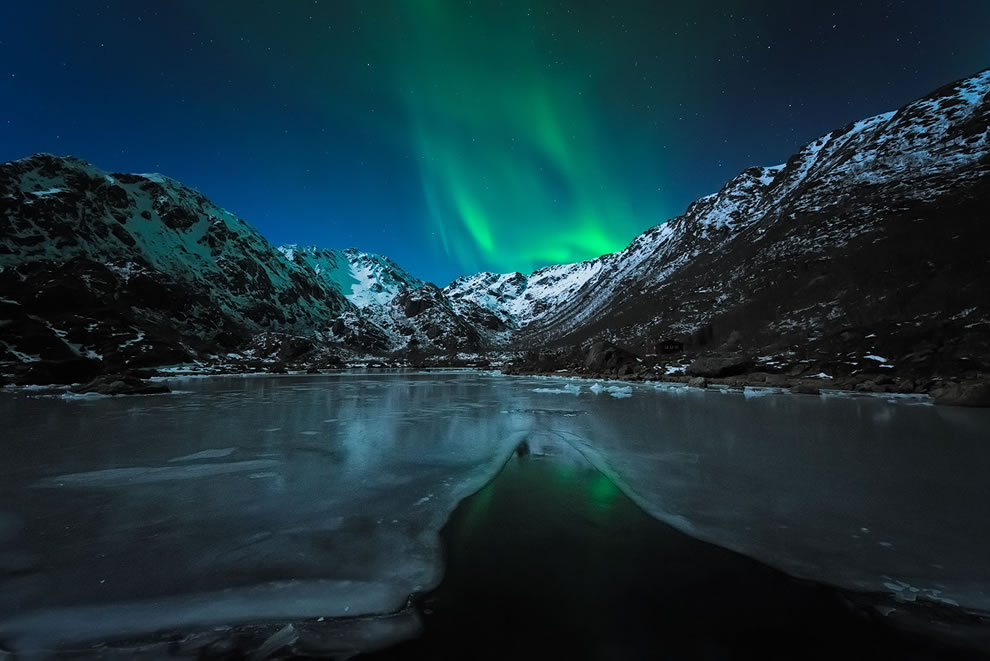 Fjord Lights in Northern Norway