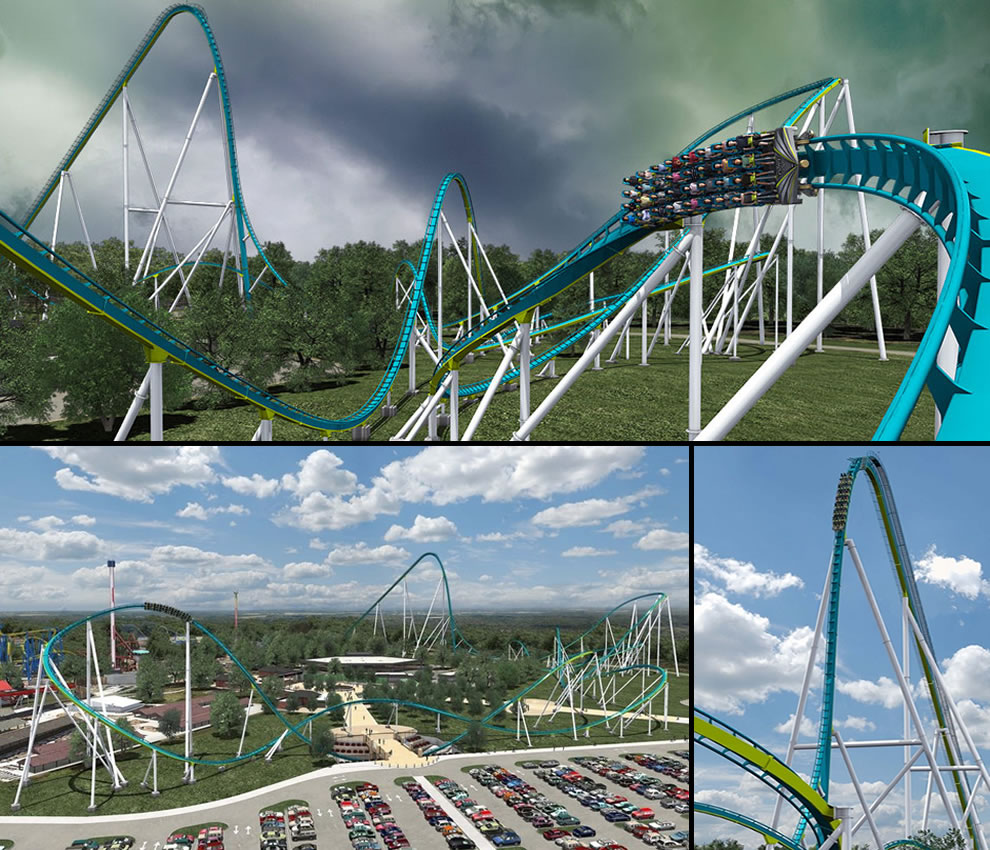 Fury 325, tallest giga-coaster in the world