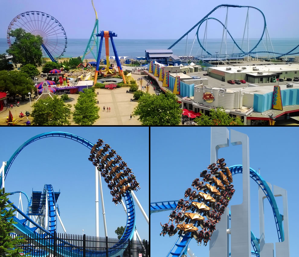 Gatekeeper has world's tallest roller coaster inversion