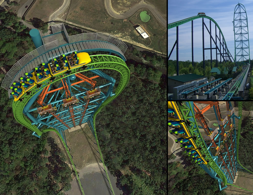 Kingda Ka, worlds tallest steel roller coaster