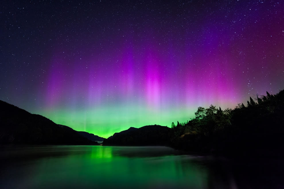 Northern Lights in the Valley