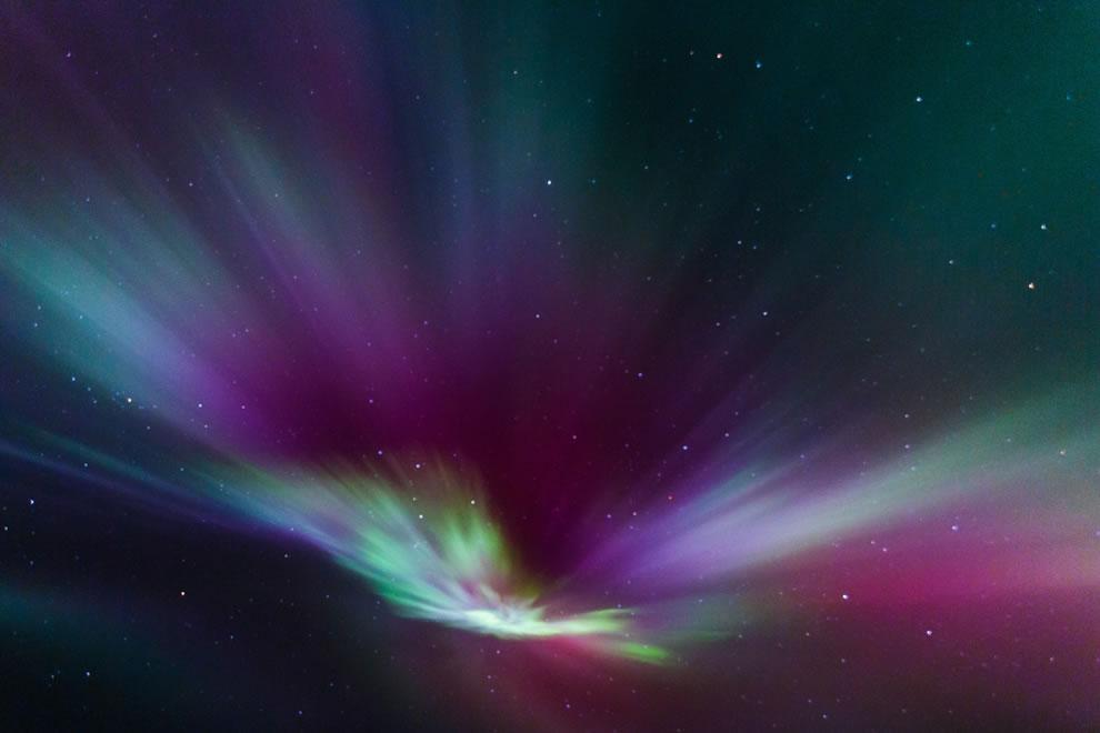 Tie Dye sky aurora