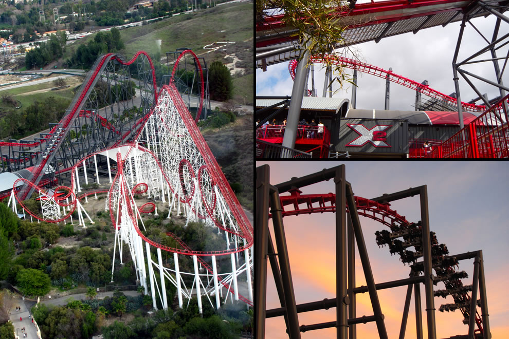 X2 ranked 1st for Wing Coaster drop