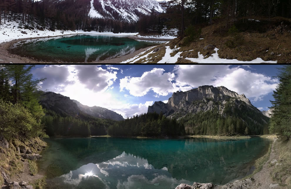 Green Lake Panorama
