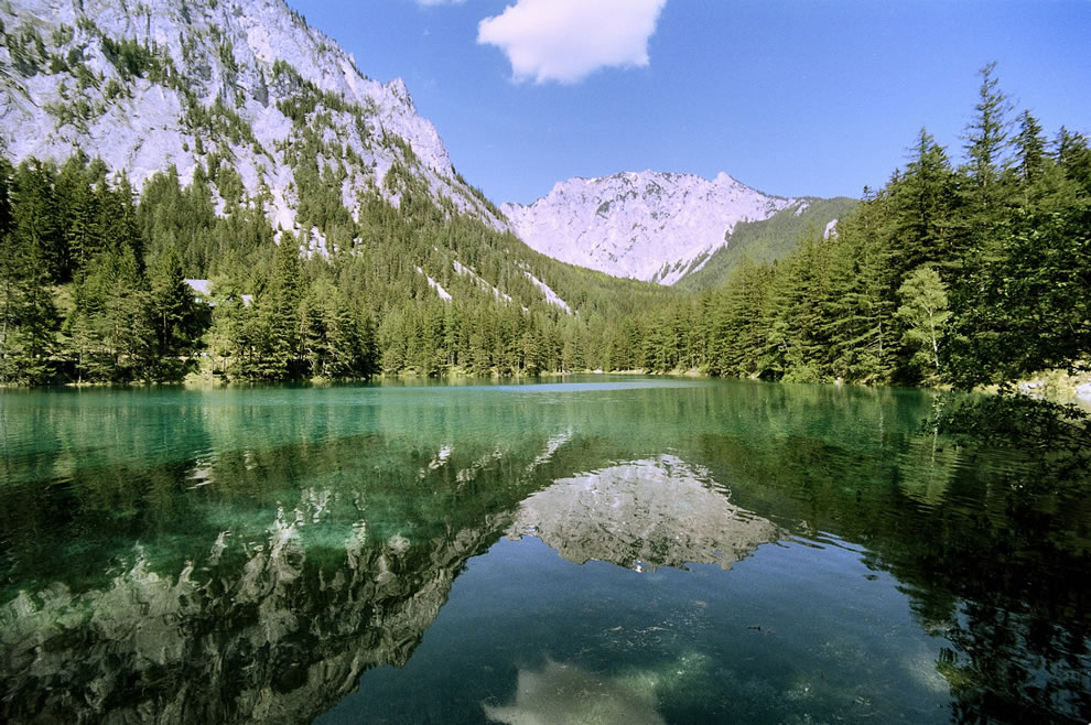 Green Lake and Mountains