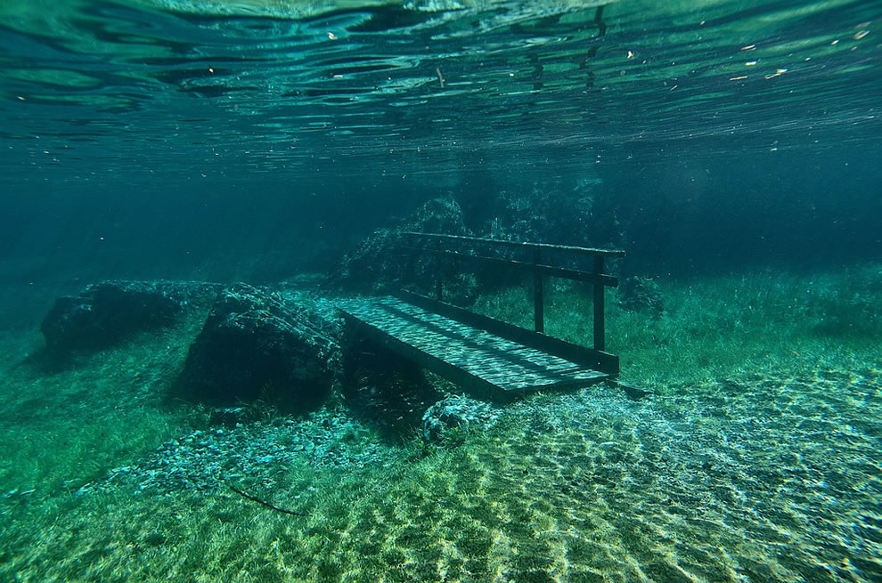 Green Lake underwater bridge