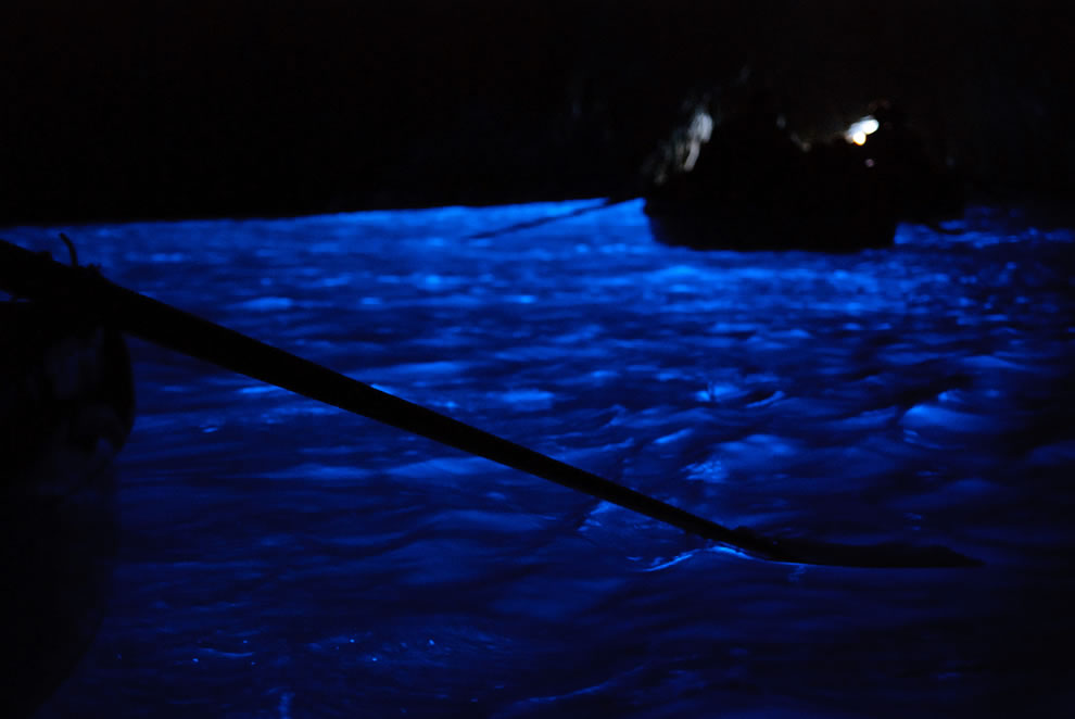 Isle of Capri blue grotto