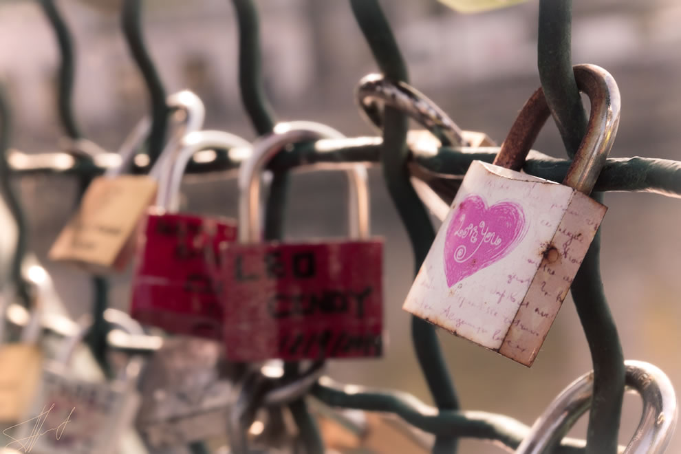 Love you padlocks in Zurich