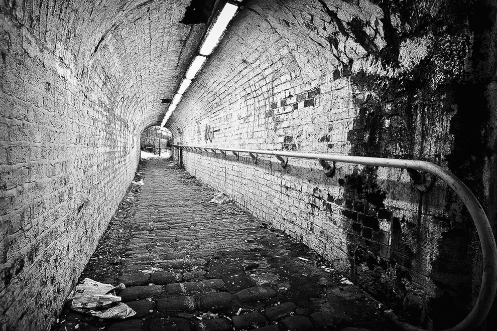 Rochdale Canal, Manchester Tunnel of Love