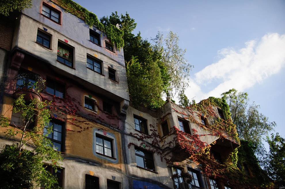Colorful Hundertwasser House