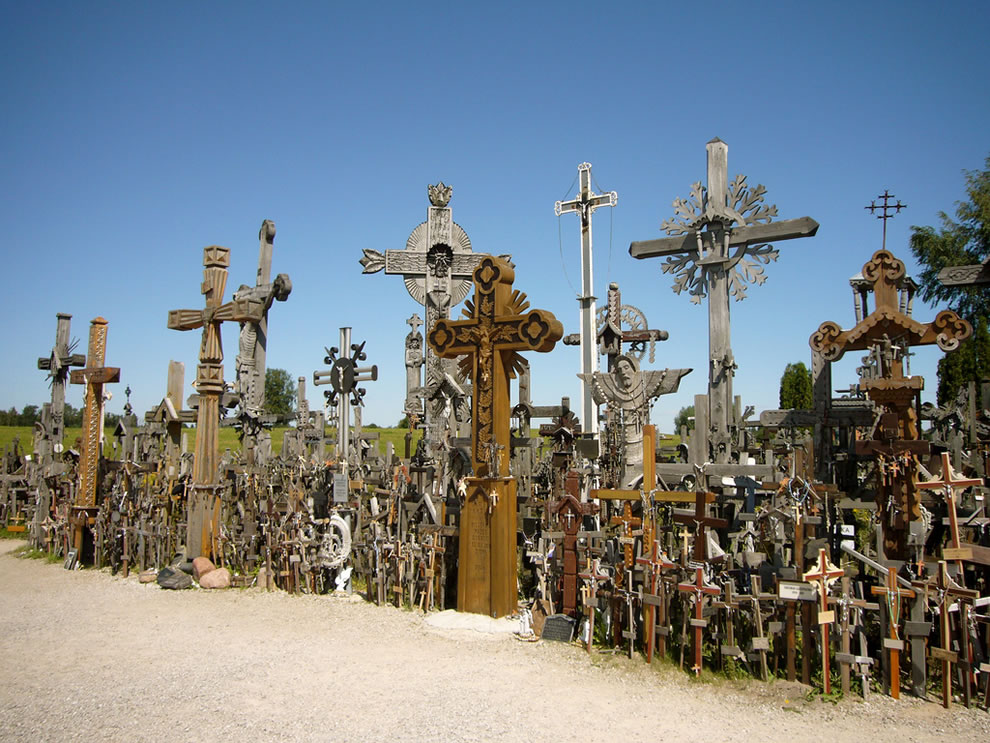 Crosses at Hill of Crosses