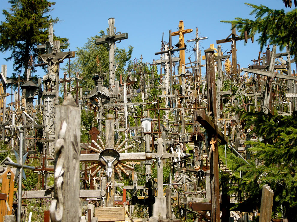 July at Hill of Crosses