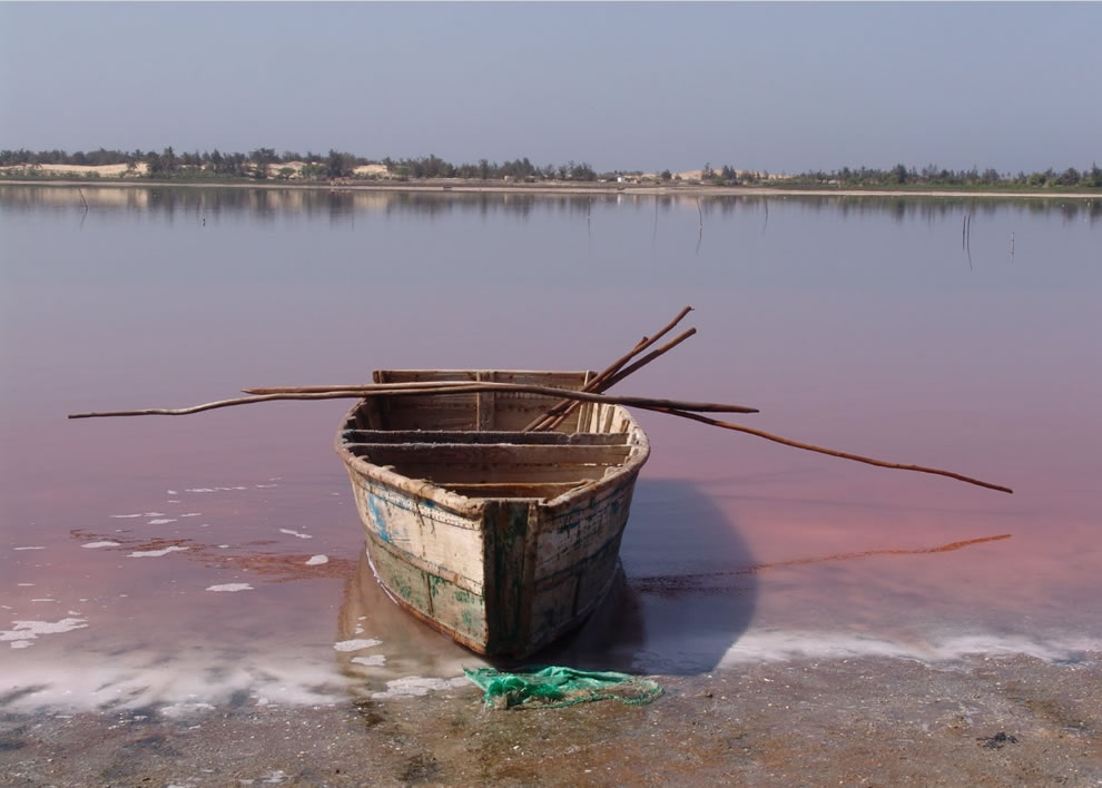 Pink Lake Senegal Retba